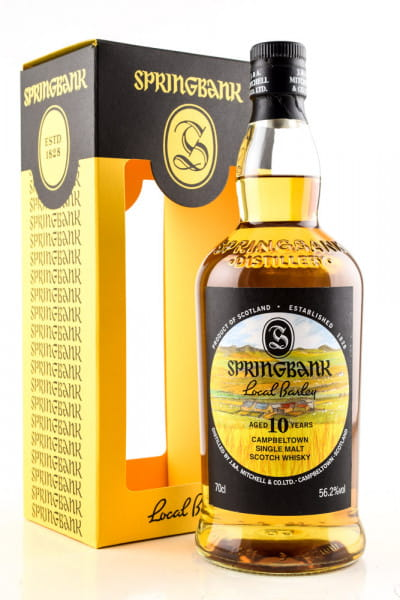 Springbank 10 Jahre Local Barley 56,2%vol. 0,7l