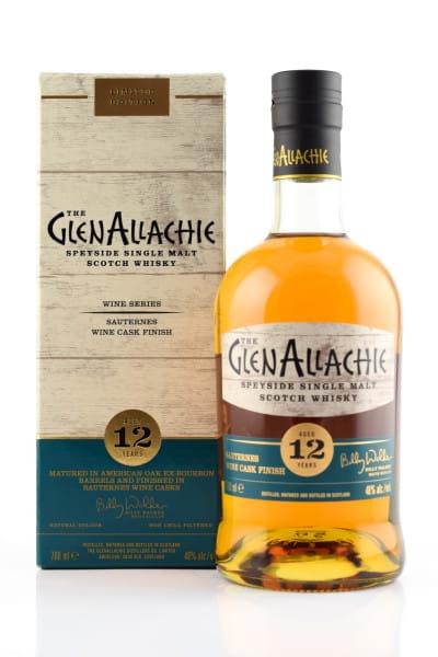 GlenAllachie 12 Jahre Sauternes Wine Cask Finish 48%vol. 0,7l
