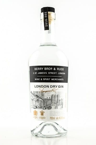 Berry Bros. & Rudd London Dry Gin 40,6%vol. 0,7l