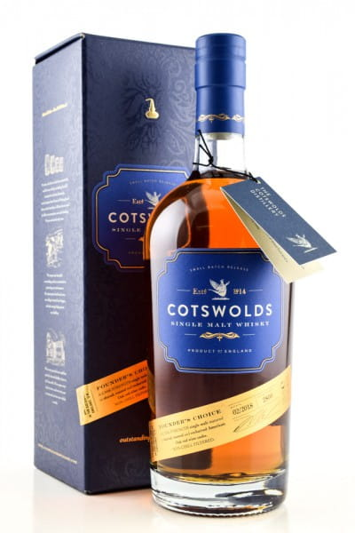 Cotswolds Founder's Choice 60,9%vol. 0,7l