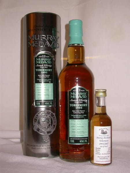 Tobermory 1995/2007 Bourbon/Madeira Murray McDavid 46%vol. Sample 0,1l