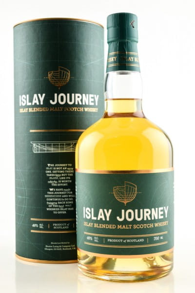 Islay Journey Blended Malt Scotch Whisky Hunter Laing 46%vol. 0,7l
