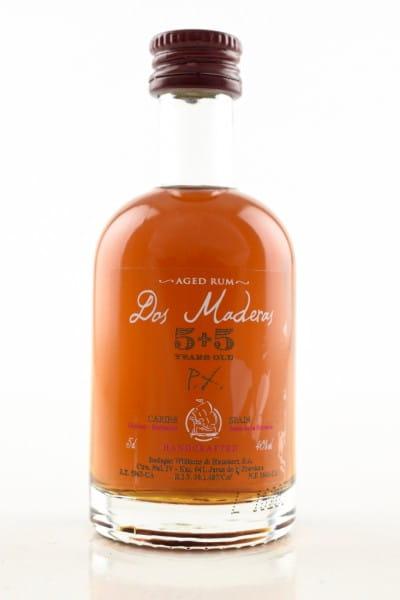 Dos Maderas PX 5+5 Jahre Rum 40%vol. 0,05l