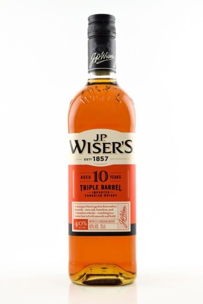 J.P. Wiser's 10 Jahre 40%vol. 0,7l