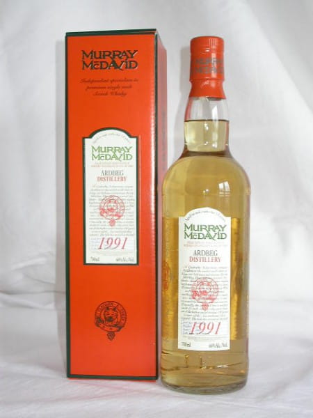 Ardbeg 1991/2004 Bourbon Murray McDavid 46%vol. 0,7l