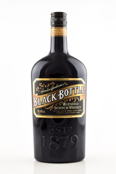 Black Bottle - Gordon Graham's Blended Scotch Whisky 40%vol. 0,7l