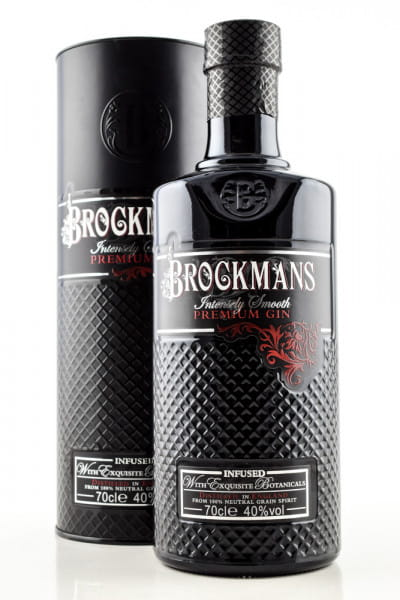 Brockmans Intensely Smooth Premium Gin 40%vol. 0,7l - in Geschenkdose