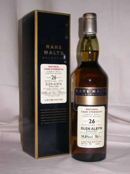 Glen Albyn 26 Jahre 1975/2002 Rare Malts 54,8%vol. 0,7l