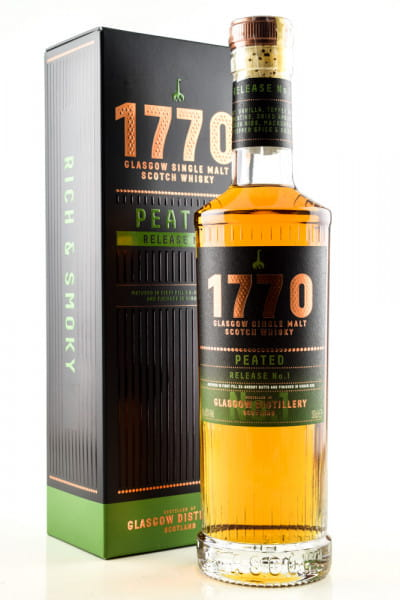 1770 Peated Release No. 1 46%vol. 0,5l