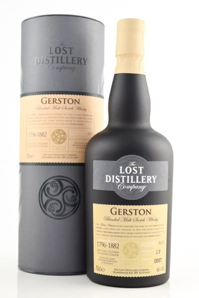 Gerston Blended Malt Scotch Whisky - Lost Distillery 46%vol. 0,7l