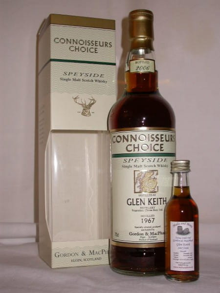 Glen Keith 1967/2006 Gordon & MacPhail Connoisseurs Ch. 46%vol.Sample0,05l