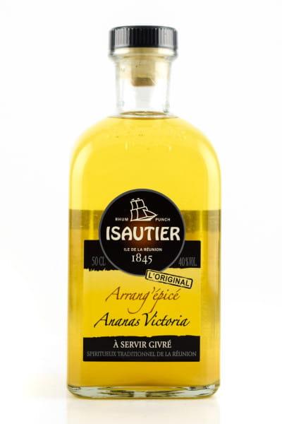Isautier Arrangé Épicé Ananas Victoria 40%vol. 0,5l