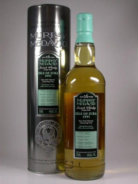 Jura 1991/2007 Bourbon Murray McDavid 46%vol. 0,7l