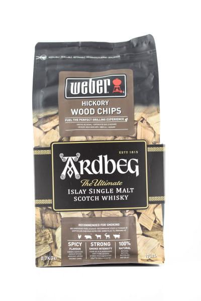 Ardbeg & Weber Hickory Wood Chips 0,7kg