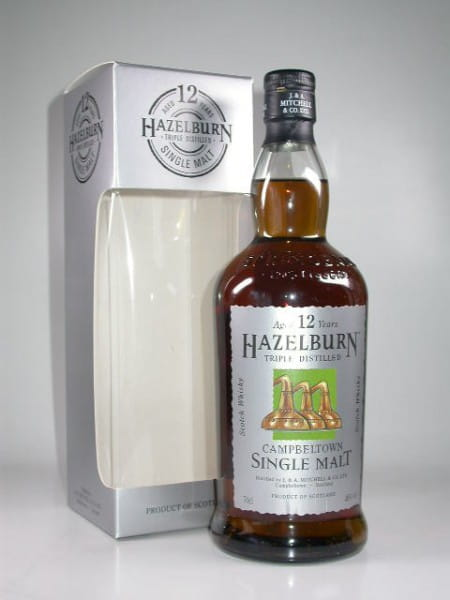 Hazelburn 12 Jahre 46%vol. 0,7l - altes Design