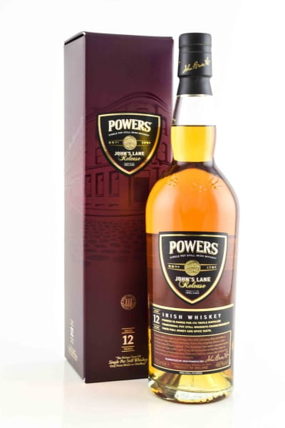 Powers 12 Jahre John's Lane Release 46%vol. 0,7l