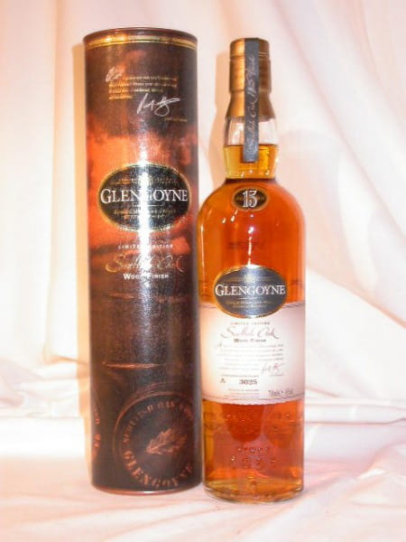 Glengoyne 15 Jahre Scottish Oak Wood Finish 43%vol. 0,7l