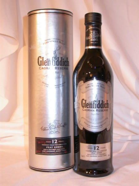 Glenfiddich 12 Jahre Caoran Reserve 40%vol. 0,7l (altes Design)