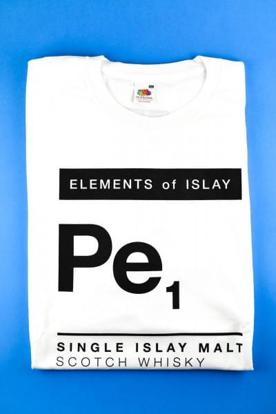 Elements of Islay Pe1 - T-Shirt Gr. XXL - weiß