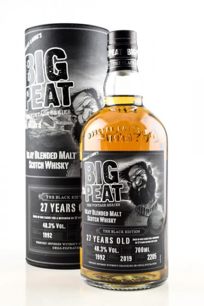 Big Peat 27 Jahre - The Black Edition Douglas Laing 48,3%vol. 0,7l