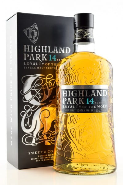 Highland Park 14 Jahre Loyalty of the Wolf 42,3%vol. 1,0l