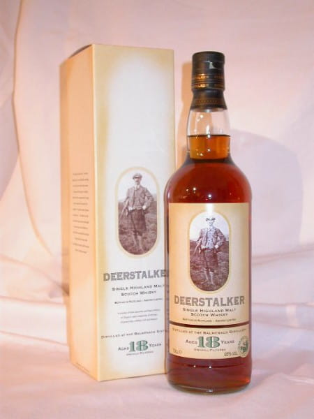 Deerstalker 18 Jahre (Balmenach) 46%vol. 0,7l