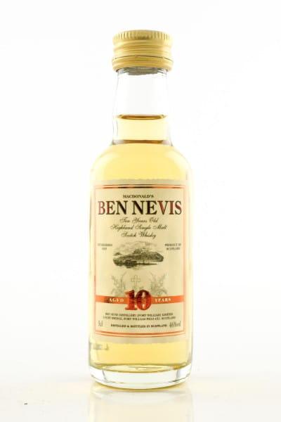 Ben Nevis 10 Jahre 46%vol. 0,05l