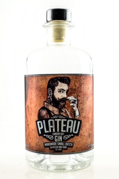 Plateau London Dry Gin 42,1%vol. 0,5l