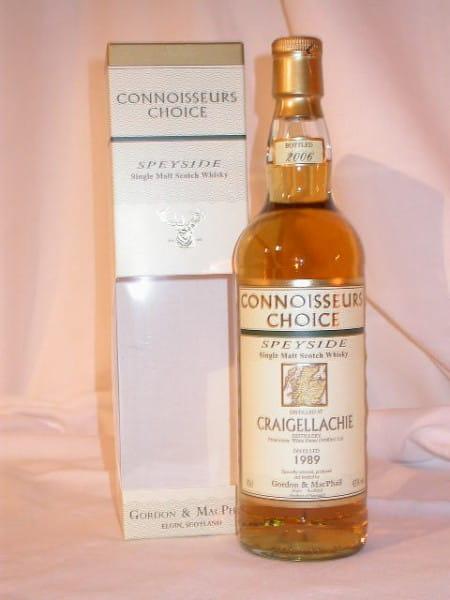 Craigellachie 1989/2006 Gordon & MacPhail Connoisseurs Ch. 43%vol. 0,7l