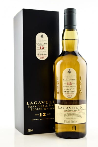 Lagavulin 12 Jahre Limited Release 2018 57,8%vol. 0,7l