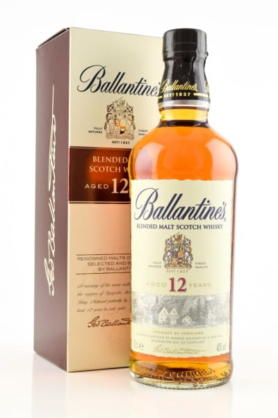 Ballantine's 12 Jahre Blended Malt Scotch Whisky 40%vol. 0,7l