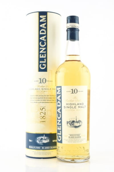 Glencadam 10 Jahre 46%vol. 0,7l
