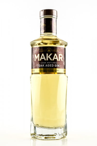 Makar Oak Aged Gin 43%vol. 0,5l