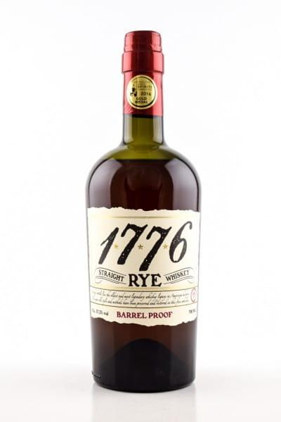 1776 Straight Rye Barrel Proof James E. Pepper 57,3%vol. 0,7l