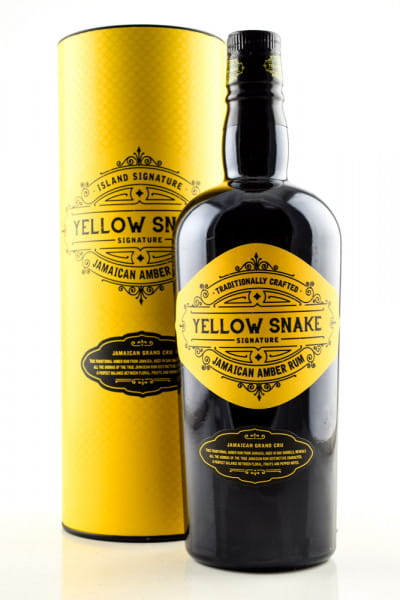 Yellow Snake Jamaican Amber Rum 40%vol. 0,7l