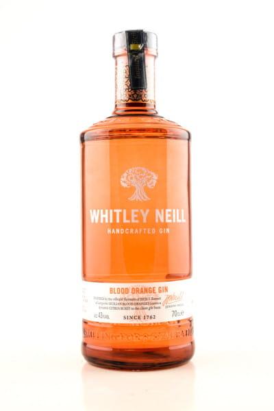 Whitley Neill Blood Orange Gin 43%vol. 0,7l