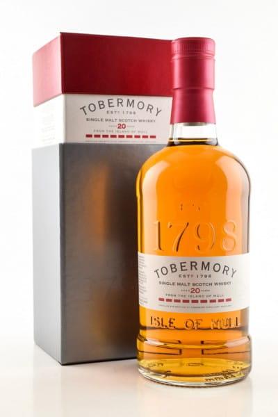 Tobermory 20 Jahre 46,3%vol. 0,7l