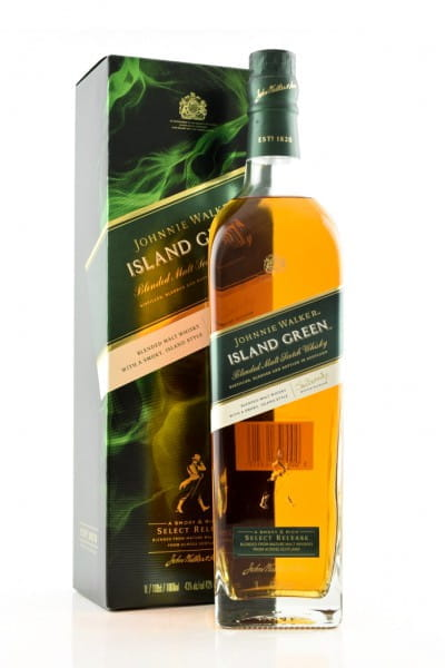 Johnnie Walker Island Green 43%vol. 1,0l