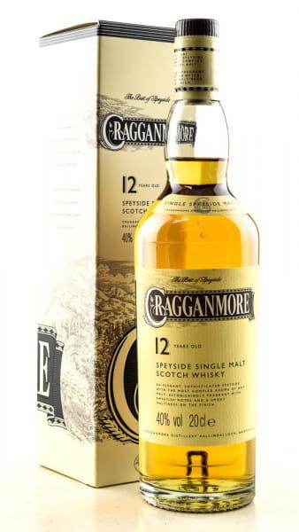 Cragganmore 12 Jahre 40%vol. 0,2l
