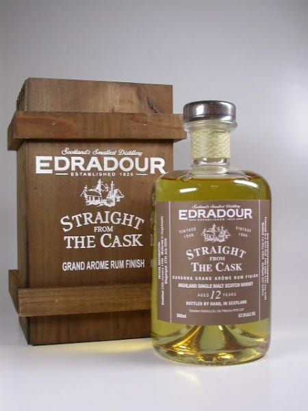 Edradour 1996/2008 Rum Finish 57,9%vol. 0,5l