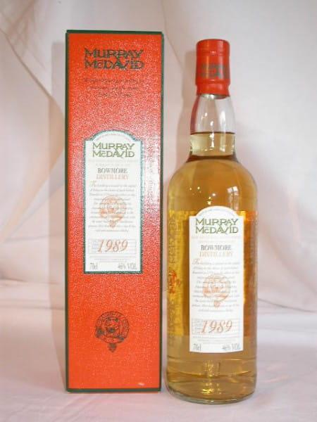 Bowmore 1989/2001 Murray McDavid 46%vol. 0,7l