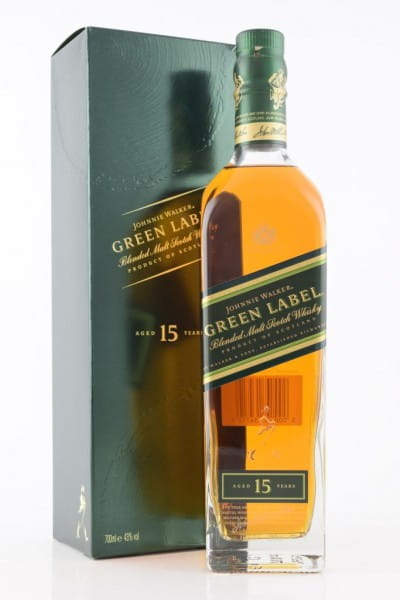 Johnnie Walker Green Label 15 Jahre 43%vol. 0,7l