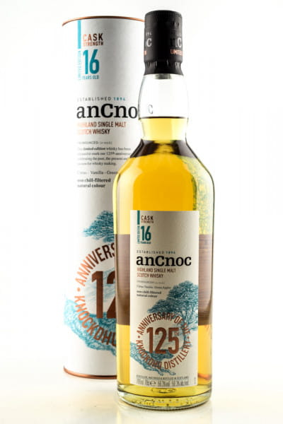 anCnoc 16 Jahre 125th Anniversary 56,3%vol. 0,7l