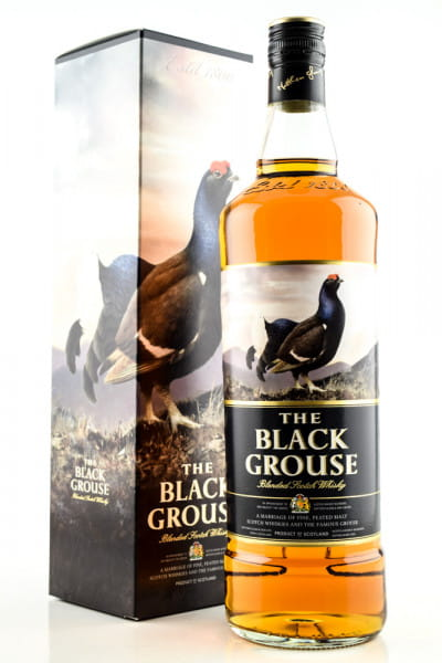 The Famous Grouse - The Black Grouse 40%vol. 1,0l
