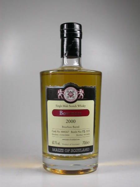 Bowmore 2000/2009 Bourbon Barrel Malts of Scotland 60,1%vol. 0,7l