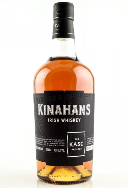Kinahan's The Kasc Project 43%vol. 0,7l