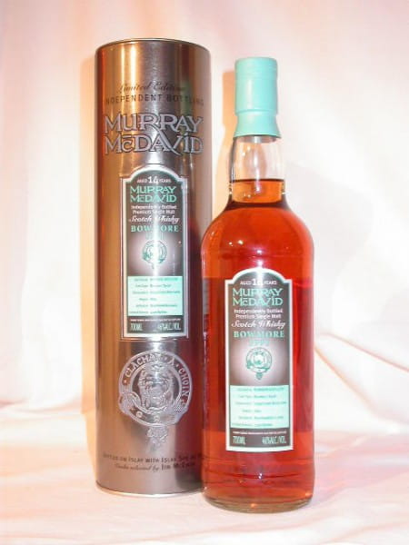 Bowmore 1991/2005 Murray McDavid 46%vol. 0,7l