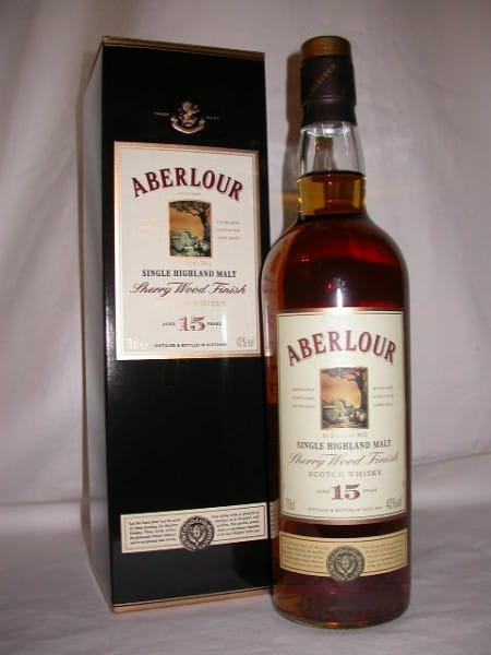 Aberlour 15 Jahre Sherry Wood Finish 40%vol. 0,7l