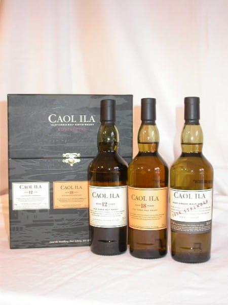 Caol Ila Collection 12Jahre / 18 Jahre / Cask strength 3x 0,2l