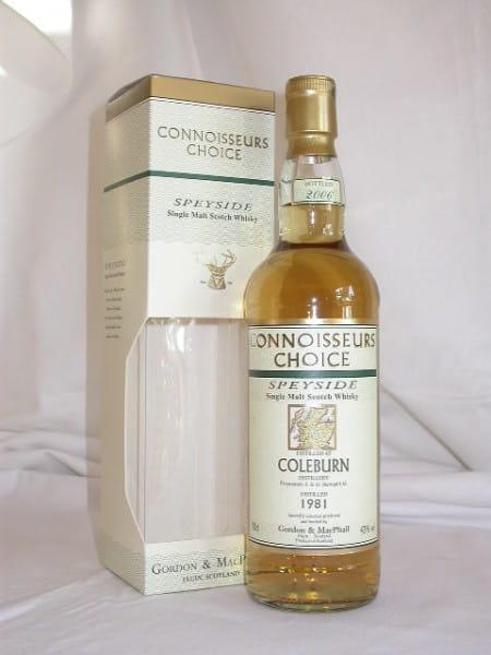 Coleburn 1981/2006 Gordon & MacPhail Connoisseurs Choice 43%vol. 0,7l